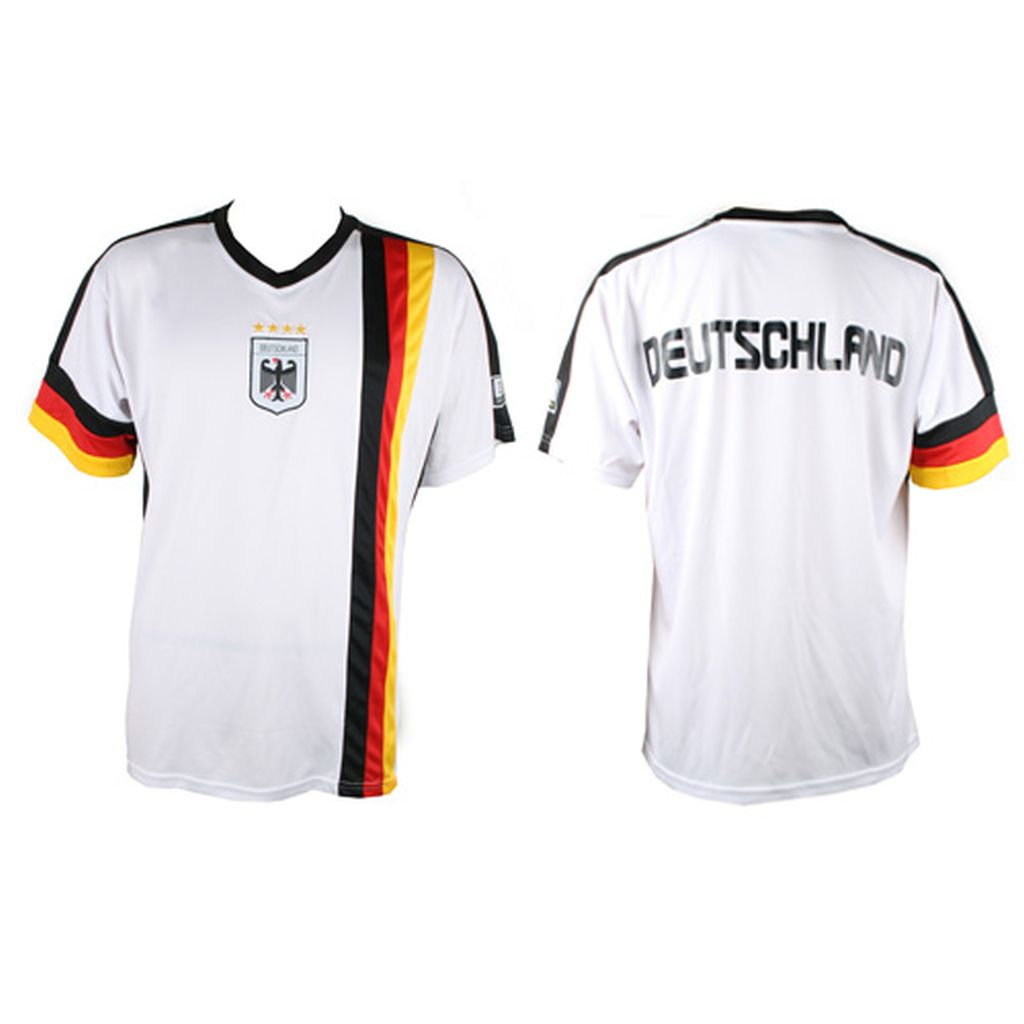 deutschland fu balltrikot herrentrikot damentrikot nationalmanschaft wei xs xl ebay. Black Bedroom Furniture Sets. Home Design Ideas