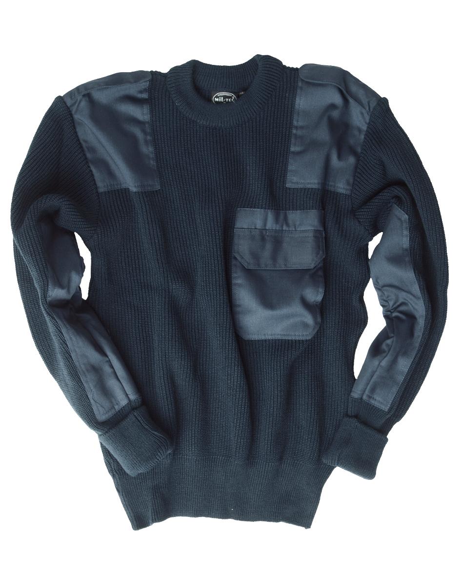 Mil Tec Bw Acryl Pullover Mit Brusttasche Bundeswehr