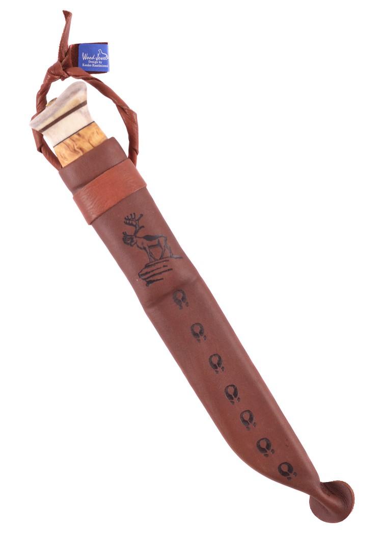 Wood-Jewel Jagdmesser Pikkupuukko 13,6cm Outdoormesser Messer