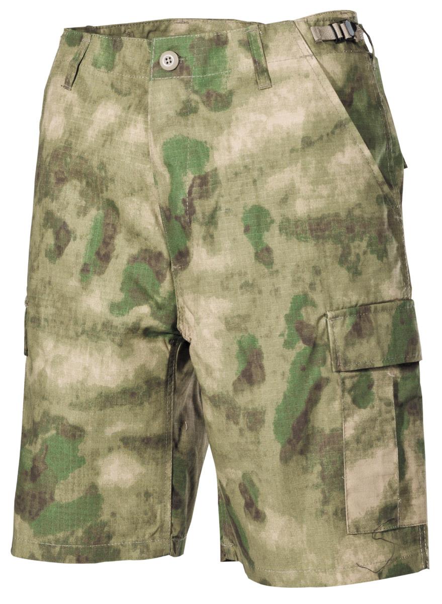 BDU Shorts kurze Hose Sommerhose Tarnmuster urban-camo mit 6 Taschen
