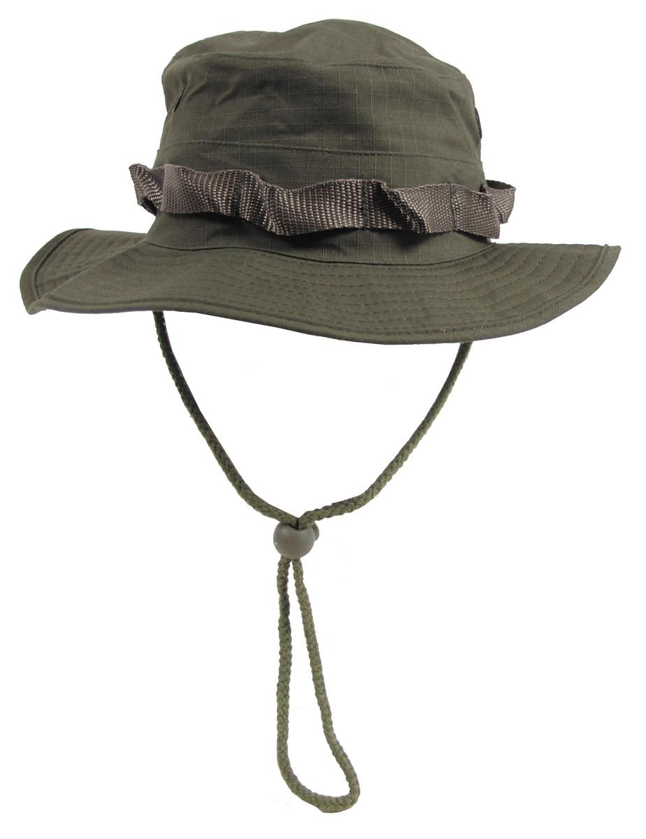 MFH Boonie Hat Flecktarn Australian Buschhut Tropenhut Schlapphut mit Kinnband S-XL