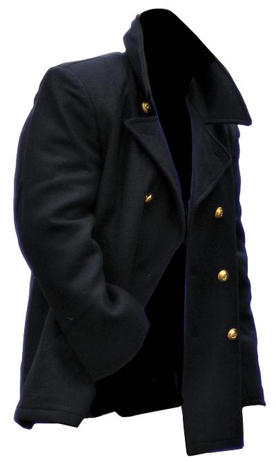 Golden Mil Coat Jacket 5xl show Overcoat TEC original BW Navy about Details Navy title xs Colani Buttons Pea Yb6vfyg7