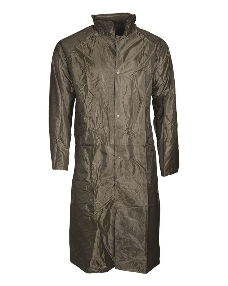 MFH Regenjacke oliv Polyester mit PVC