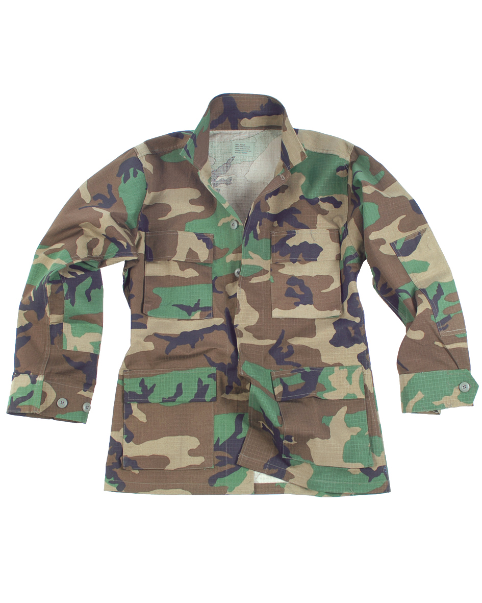 Mil-Tec US BDU FELDJACKE R//S DARK COYOTE Outdoorjacke Jacke