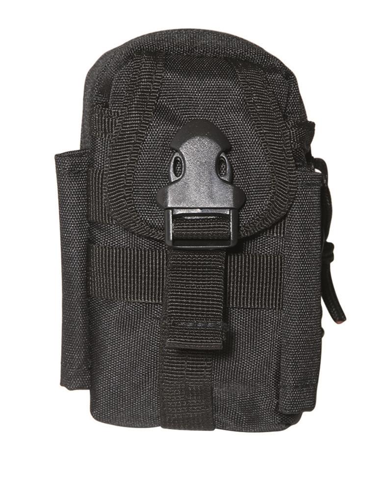 Mil-Tec Commando Koppeltasche Schwarz Oliv Gürteltasche Hüftbeutel Hüfttasche