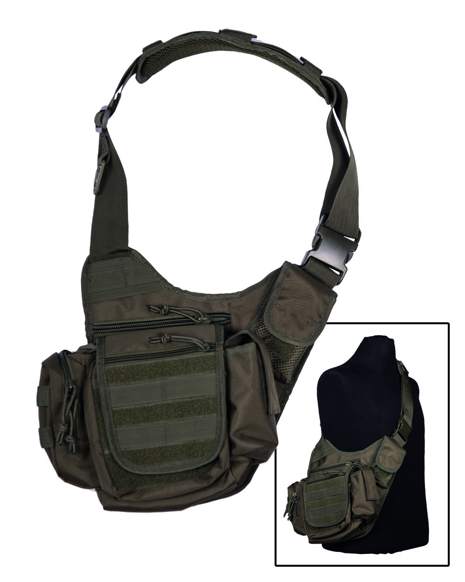 Mil-Tec Umhängetasche Sling Bag Multifunktionstasche Tasche Schultertasche