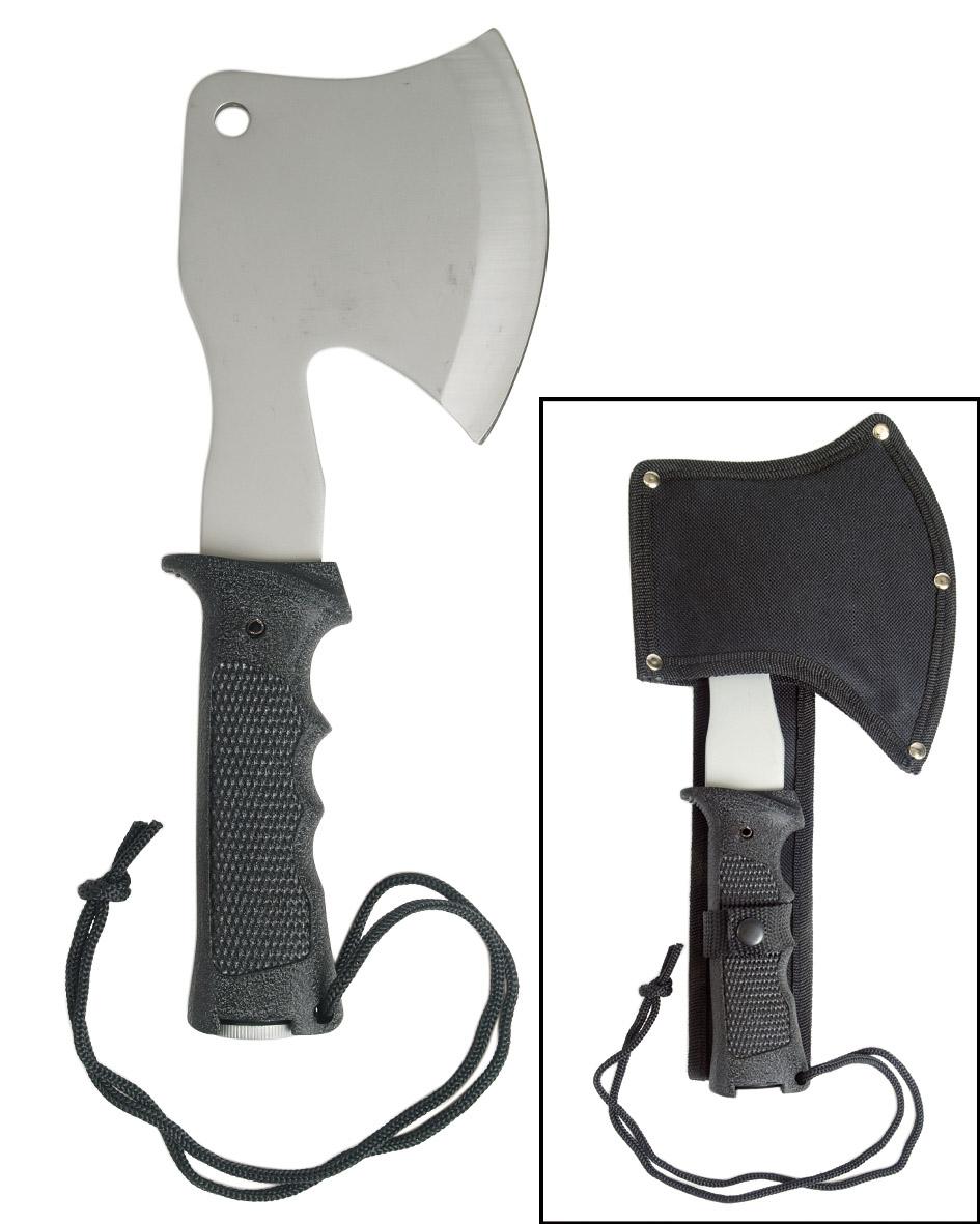 Mil-Tec Hammeraxt mit Kopftasche 27cm Beil Camping Campingbeil Axt Campingaxt