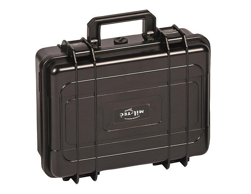 mil tec transportbox wasserdicht box kiste werkzeugkoffer 28x23x9 8cm ebay. Black Bedroom Furniture Sets. Home Design Ideas