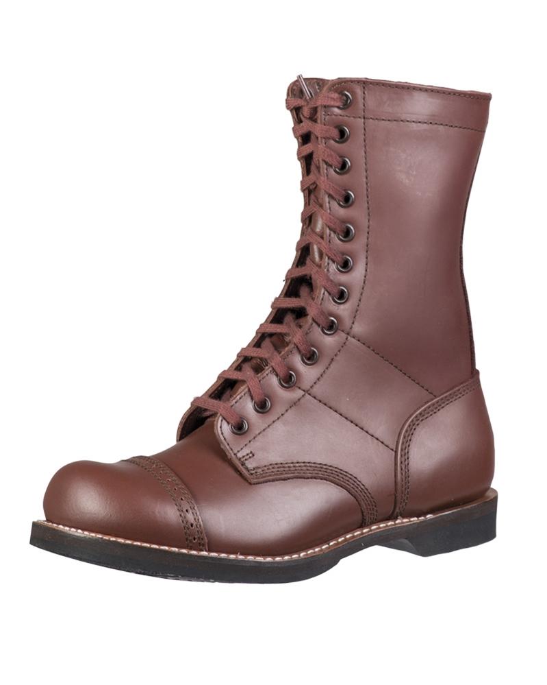 Zu Springerstiefel 38 Kampfstiefel Details Braun Lederstiefel Tec Boots 46 Mil Us Para rxshQBtdC