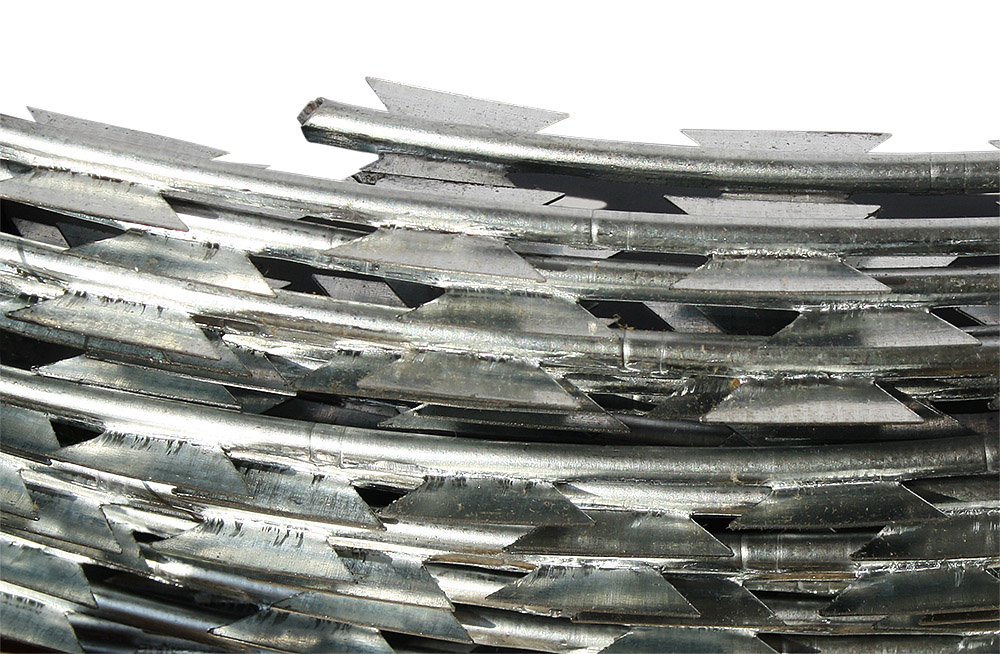 UnfadeMemory NATO-Draht Stacheldraht Verzinkter Stahl Natodraht 500 m Outdoor-Einsatz f/ür den Schutz Ihren Garten oder Hof