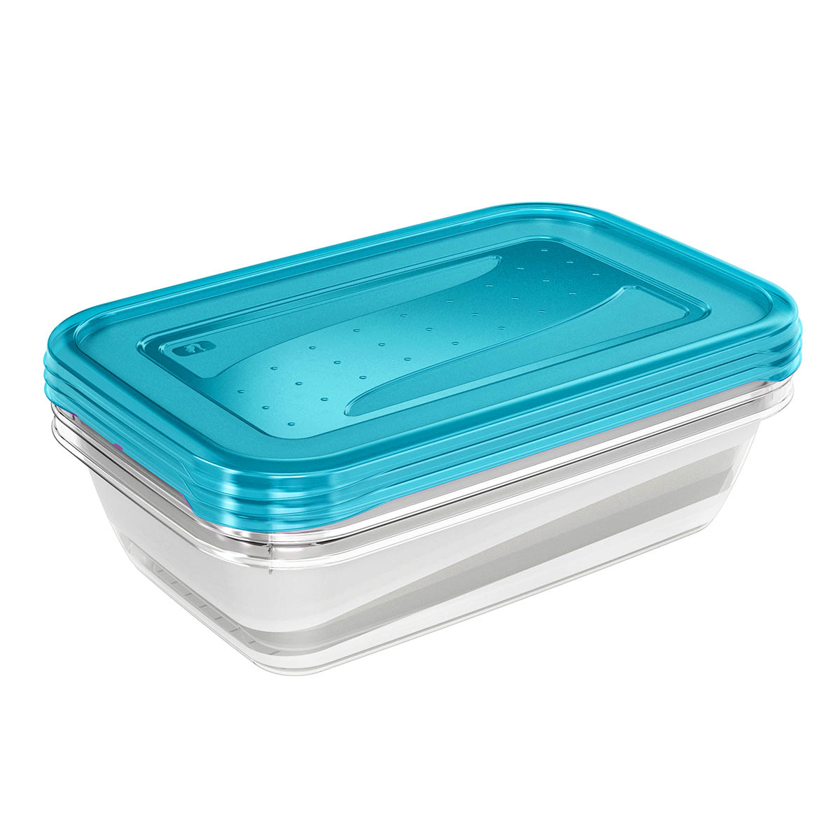 5x keeeper Frischhaltedose fredo fresh 0,5 Liter Aufbewahrungsdosen Vorratsdosen