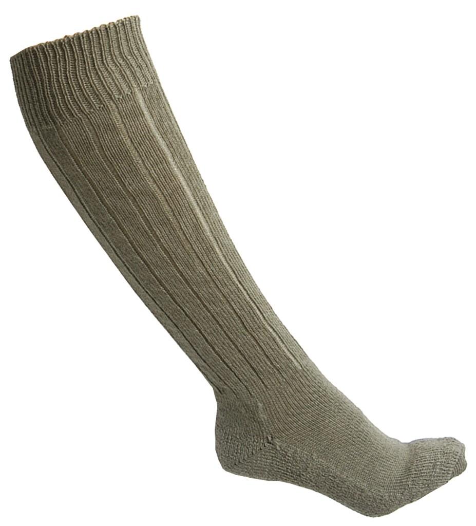 BW Socken Lang Oliv