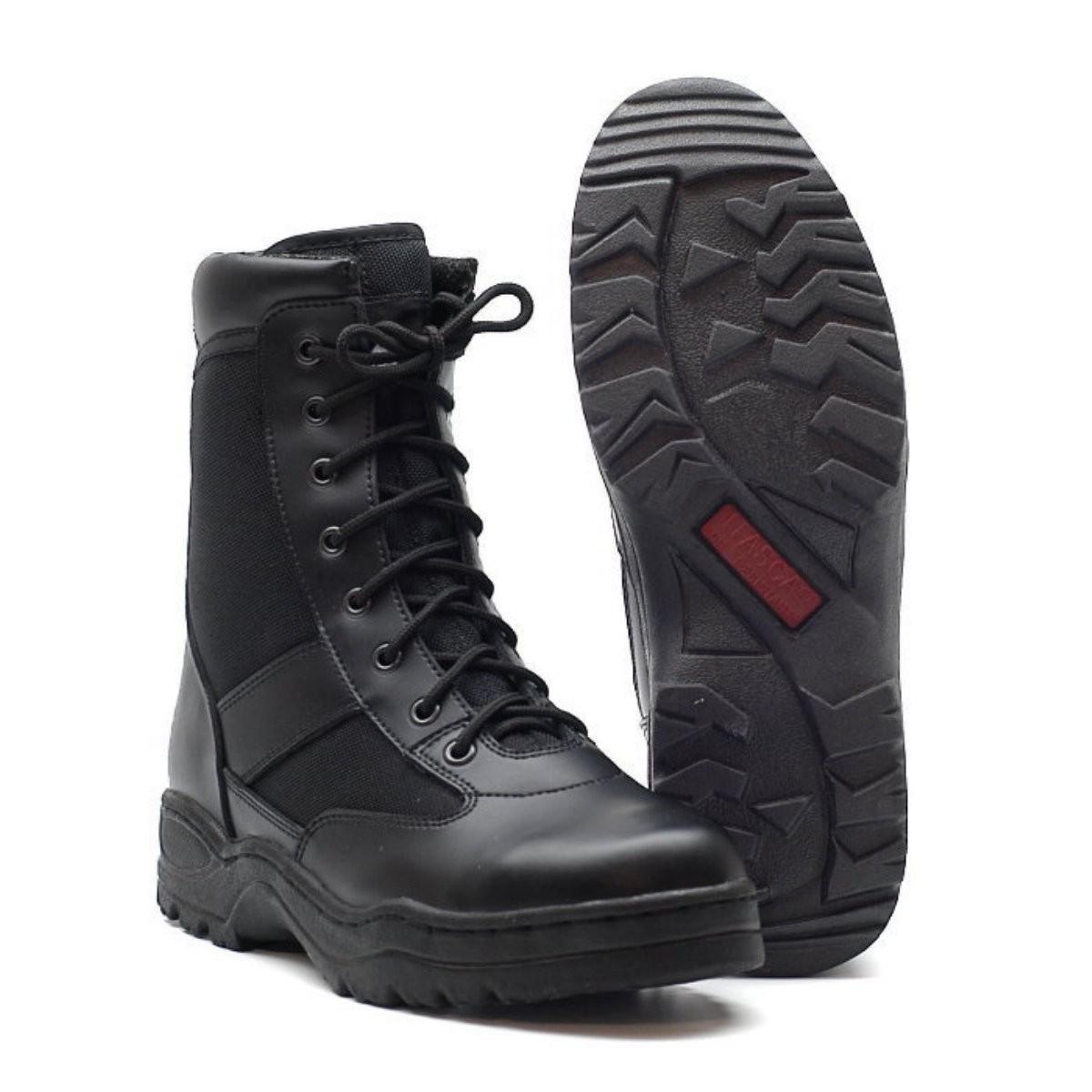 McAllister Outdoor Boots Farbe Schwarz Größe 45 5PdoVe