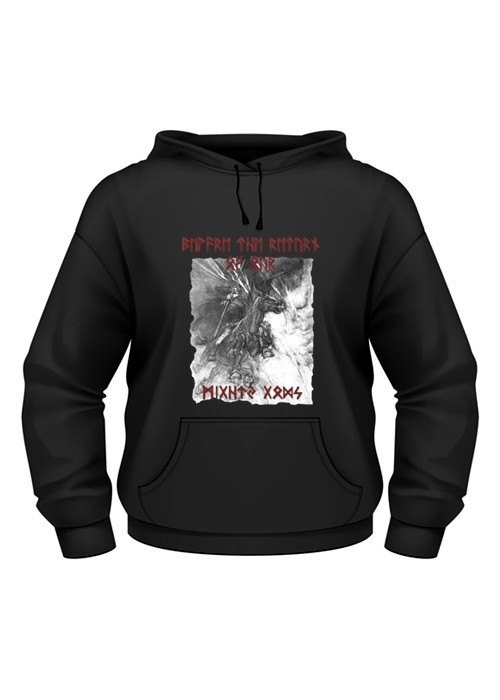 "Battle Merchant Hoodie ""Beware the return of... Odin"""