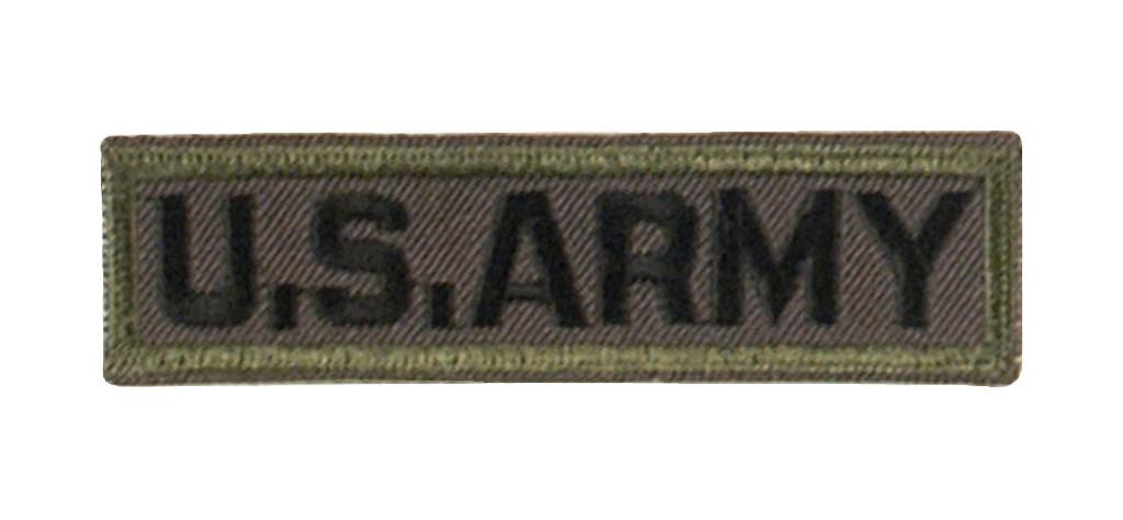 """Stoffabzeichen """"U.S. Army"""" Oliv"""