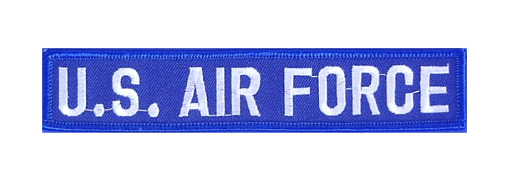 """Stoffabzeichen """"U.S. Air Force"""" Blau"""