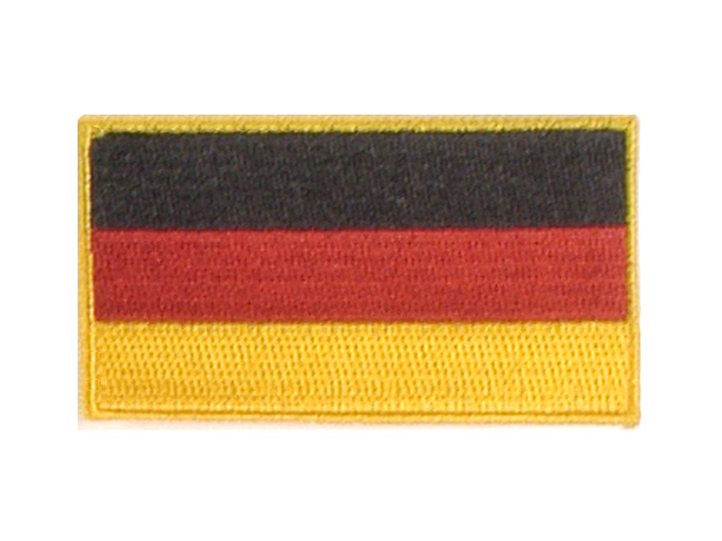 """Stoffabzeichen """"Flagge - BR Deutschland"""""""