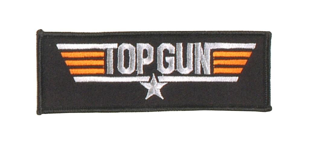 """Stoffabzeichen """"U.S. Top Gun"""""""