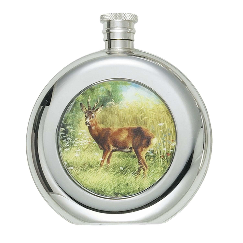 Fritzmann Cognacflasche Rehbock Rund 150ml
