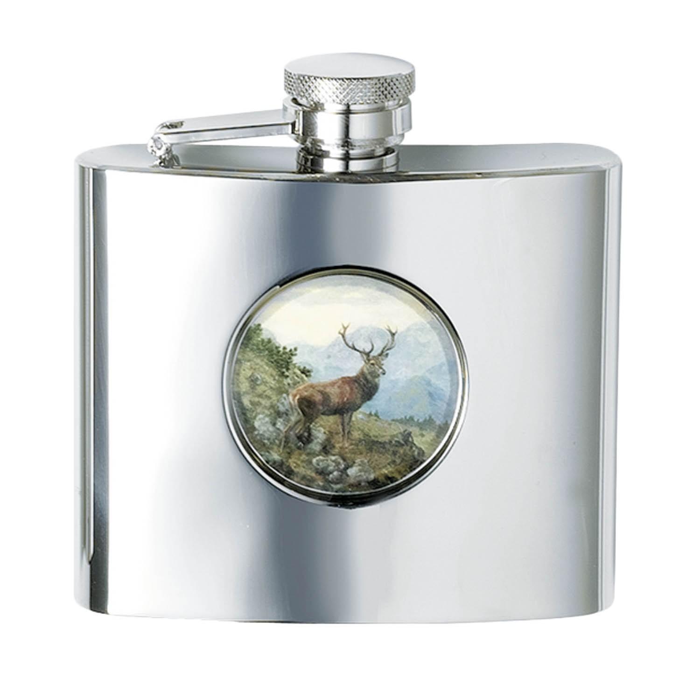 Fritzmann Cognacflasche Rothirsch Eckig 210ml