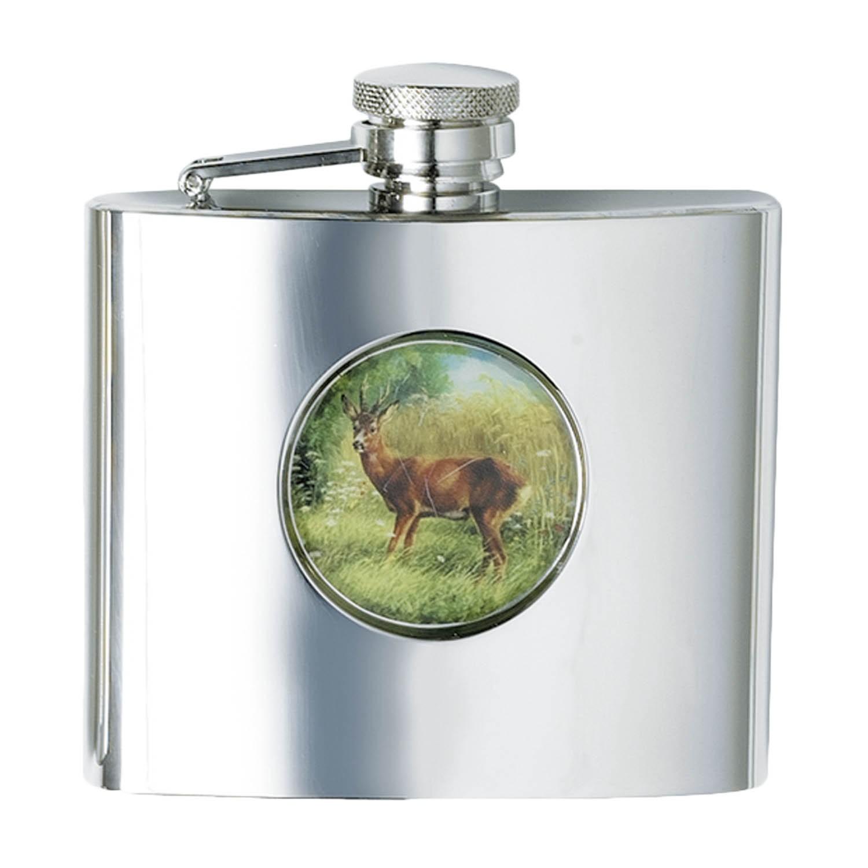 Fritzmann Cognacflasche Rehbock Eckig 210ml