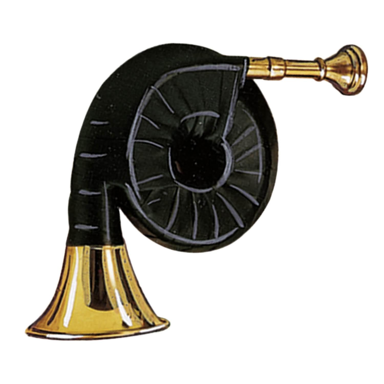 Fritzmann Taschenjadghorn 6-windig Echtleder