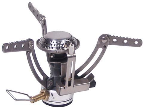 FoX Outdoor Minigaskocher mit Piezo-Zündung 1800W