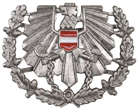 Österreichisches Bundesheer Schirmmützen-Abzeichen