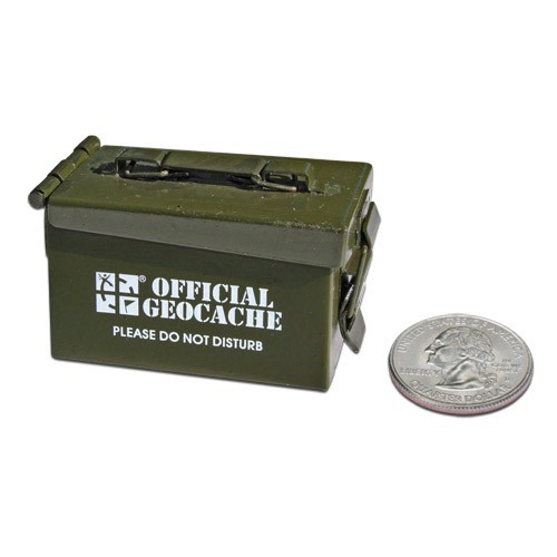 Munitionskiste Versteck Micro