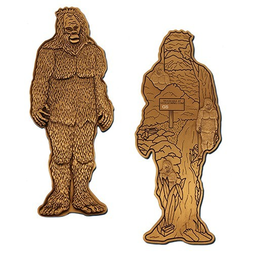 "Geocoin ""Gary der Mega Bigfoot"""