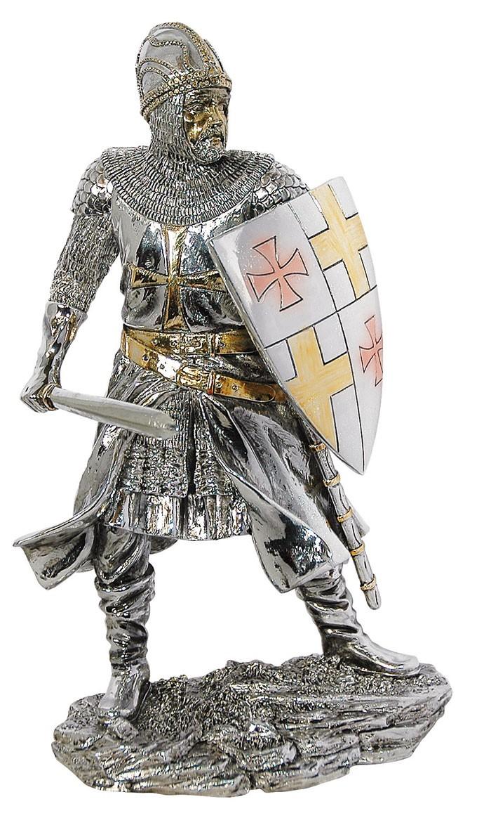 Knightsbridge Gothic-Figur Kreuzritter KBW3