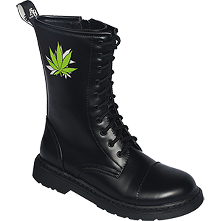 Knightbridge Stiefel Dark Creationz RZ-CB Cannabis
