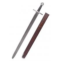 Battle Merchant Hochmittelalter Schaukampfschwert mit Scheide SK-C 96cm