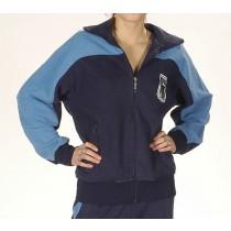 BW Trainingsjacke Blau Gebraucht