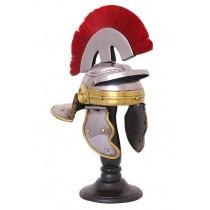 Battle Merchant Miniatur Zenturio Helm mit Haarbusch 20 cm