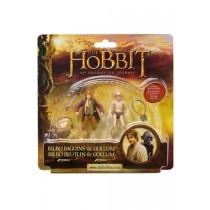 "Der Hobbit Actionfiguren ""Bilbo Beutlin & Gollum"" 10 cm"