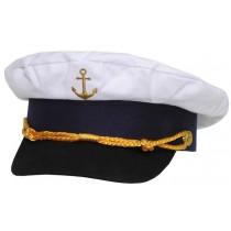 MFH Kapitänsmütze Weiß