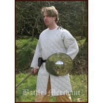 Battle Merchant Langer Gambeson Natur