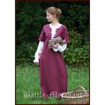 "Battle Merchant Mittelalterkleid / Überkleid ""Sanne"" Bordeaux"