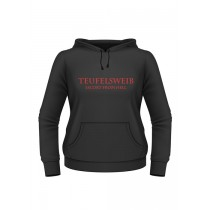 "Battle Merchant Girlie-Hoodie ""Teufelsweib - Escort from Hell"""