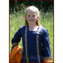"Battle Merchant Kinderkleid ""Lenne"" Blau 8-12 Jahre"