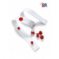BP Knopfleiste Weiß 20 Stück