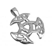 Battle Merchant Anhänger Keltischer Knoten Silber