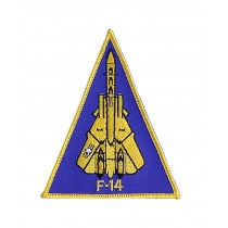 """Stoffabzeichen """"U.S. Air Force F-14 Piloten"""""""
