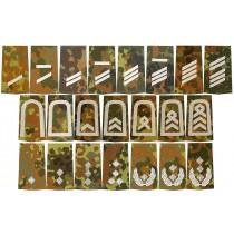 BW Rangabzeichen Flecktarn-Silber
