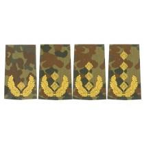 BW Rangabzeichen Flecktarn-Gold