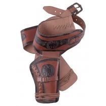 Battle Merchant Western Revolvergürtel mit 2 Holstern