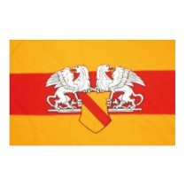 Mil-Tec Flagge Baden mit Wappen 150 x 90 cm