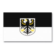 Mil-Tec Flagge Ospreussen mit Wappen 150 x 90 cm