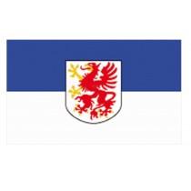 Mil-Tec Flagge Pommern mit Wappen 150 x 90 cm